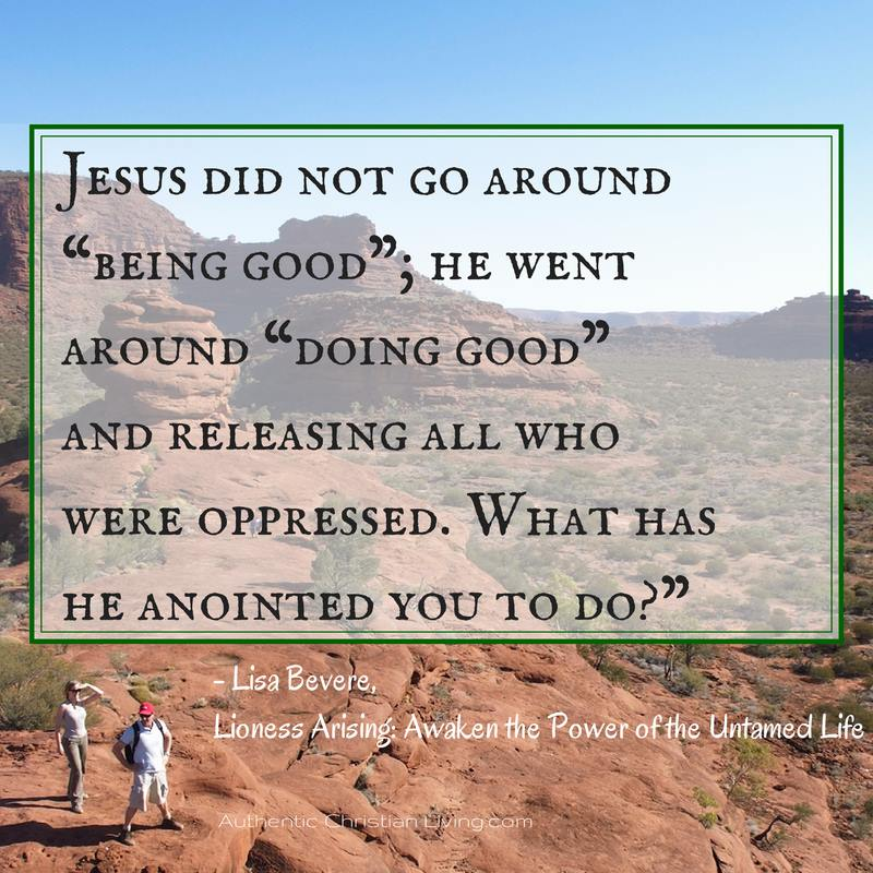 Lisa Bevere Quote from Lioness Arising | Jesus