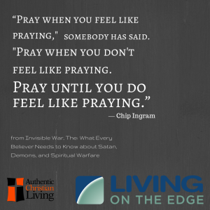 Living on the Edge | Live like Christ |