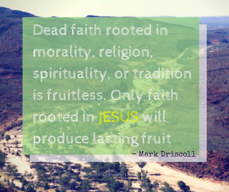 Mark driscoll pastor quote Seattle Mars Hill Church Dead faith rooted in religion