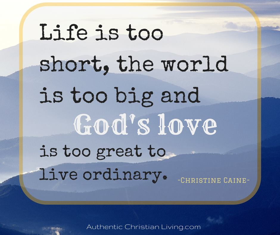 Gods love quote Beautiful words Life is too short