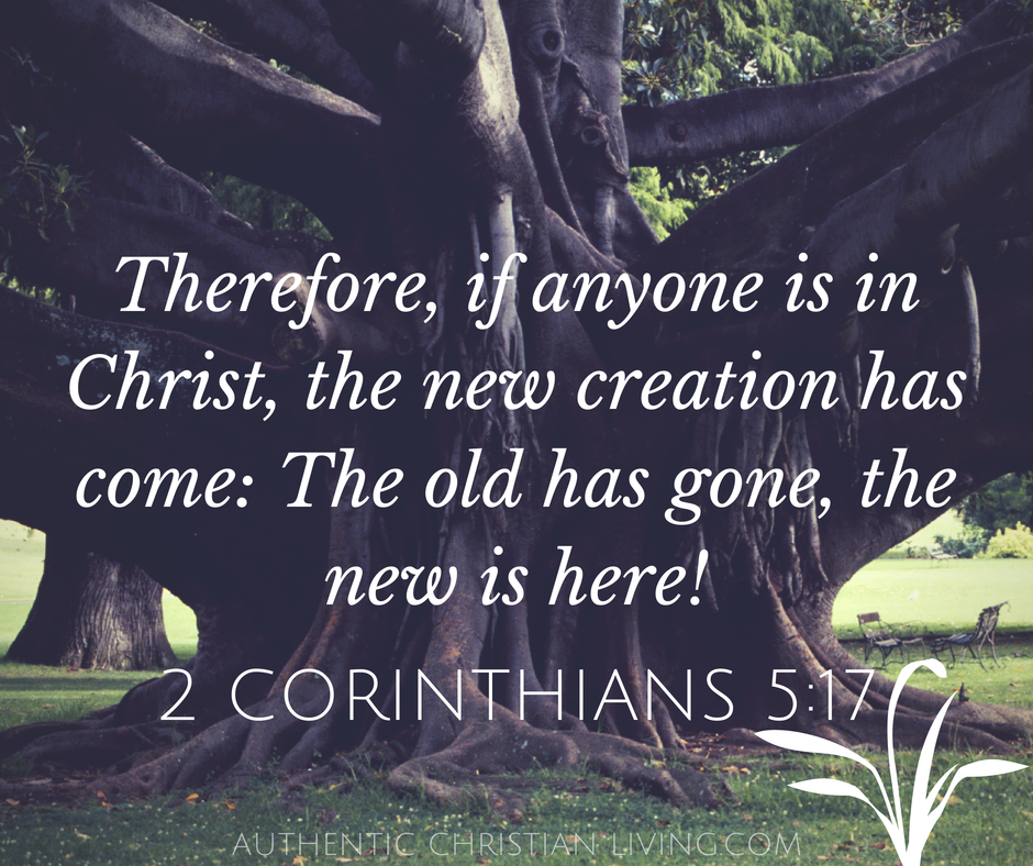 New Creation Bible Verse | 2 Corinthians 5 17 | Memory verses