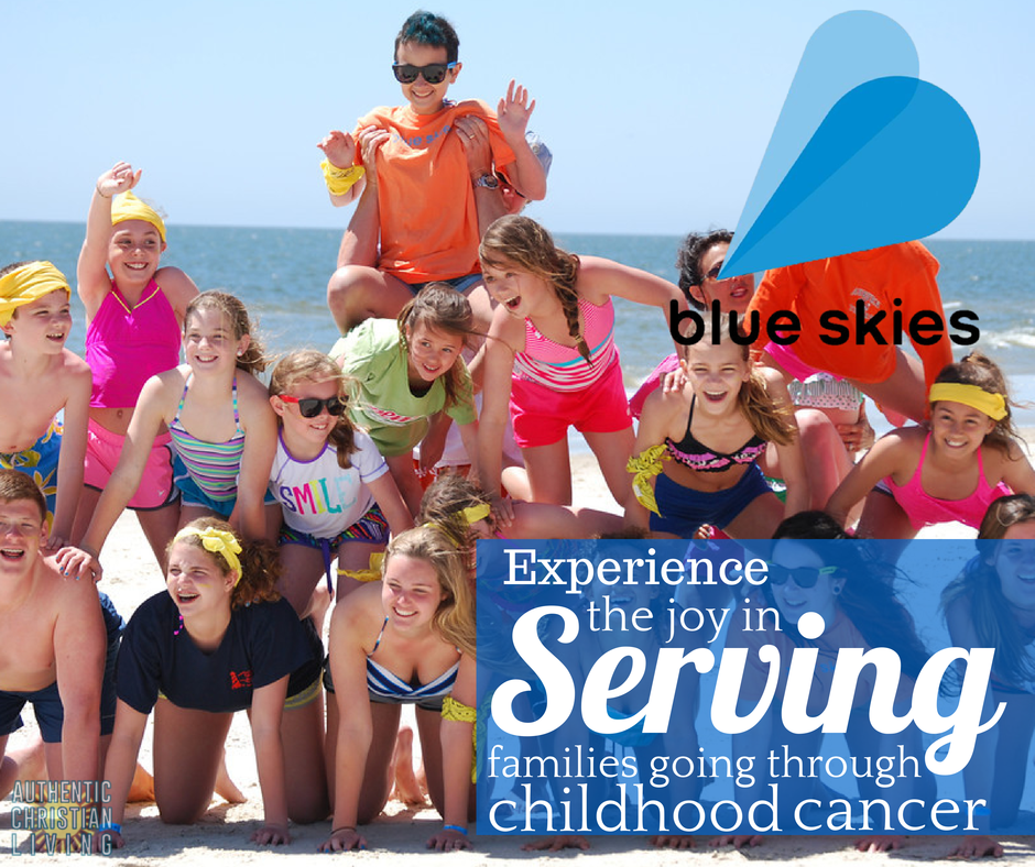 Blue skies ministries | providing vacations to families going through childhood cancer