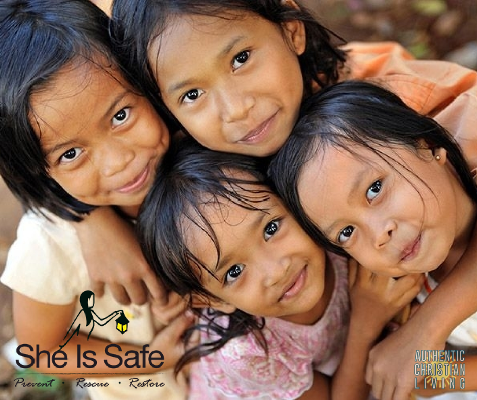 She is Safe works to prevent sex trafficking and educate girls | charity | do good |