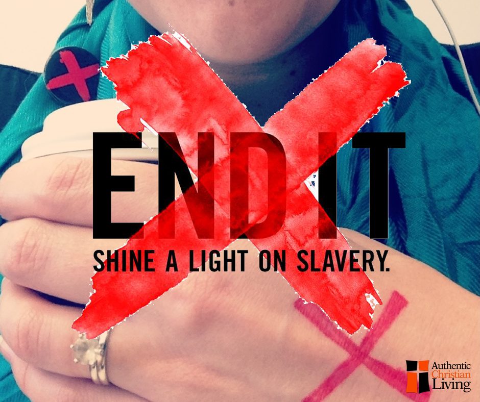 Christmas In July charity highlight campaign | End It Movement | Red X | Stamp out slavery