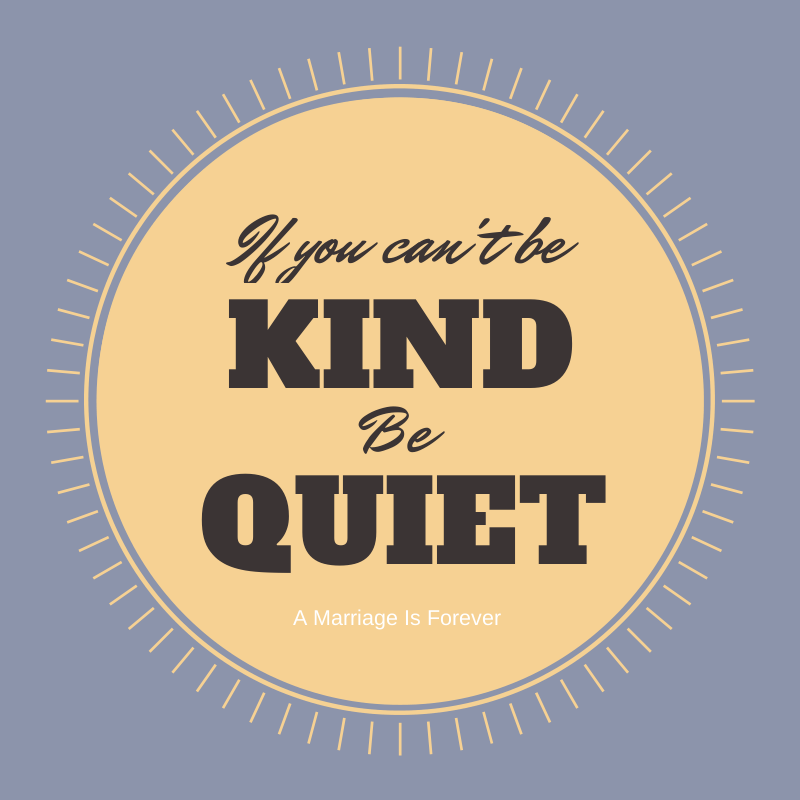 Kind vs Quiet