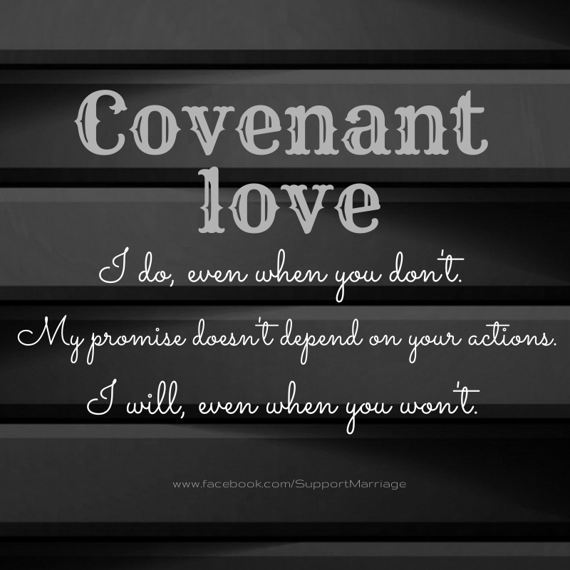 Marriage - Covenant Love Christ
