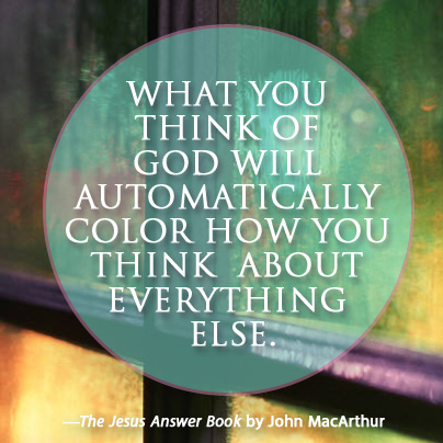 The Jesus Answer Book by John MacArthur quote 2