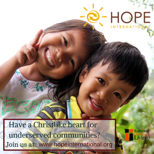 Hope International | Drive out Poverty |