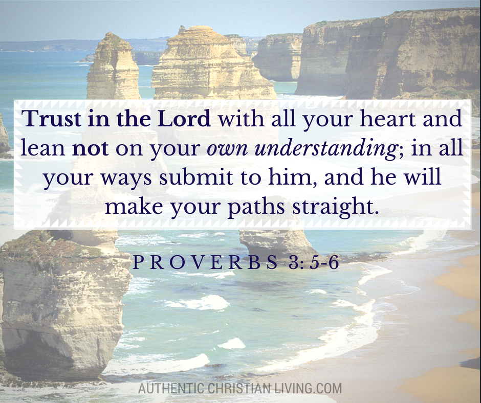 Proverbs 3 | Trust in the Lord | Bible verses for memory | scripture study |