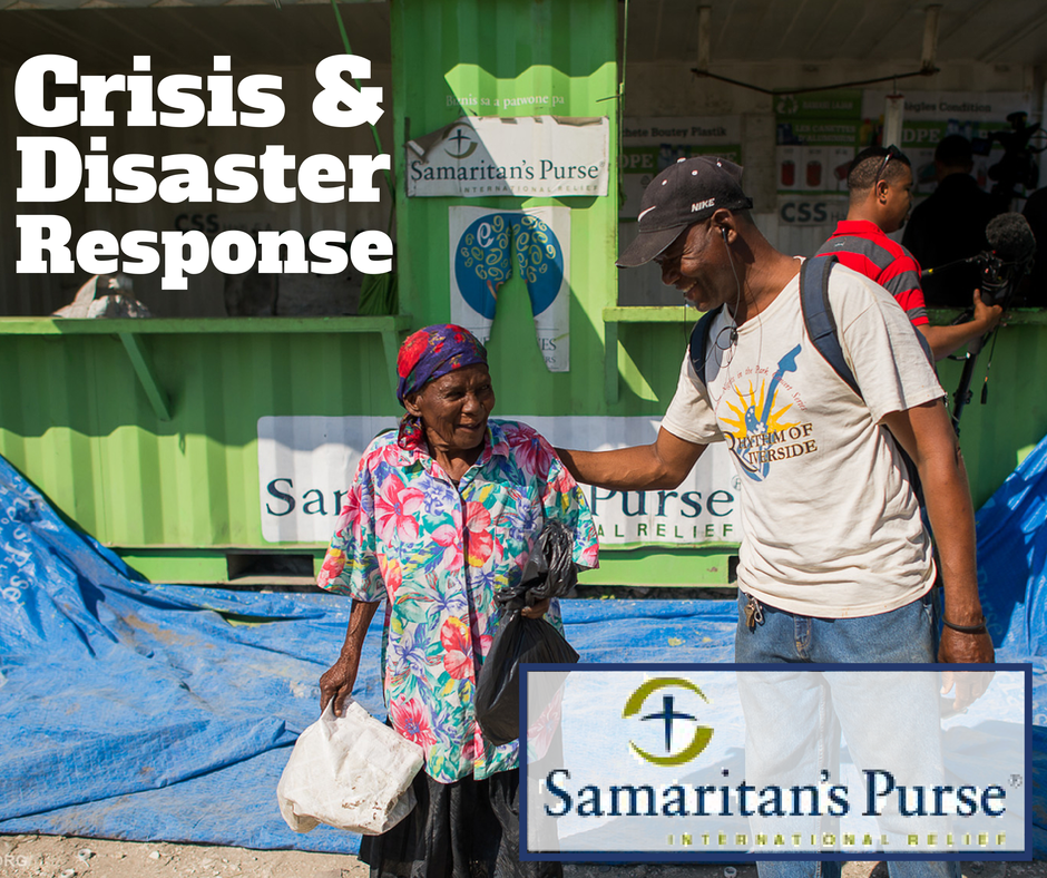 Samaritans Purse | Helping in disaster situations quickly |