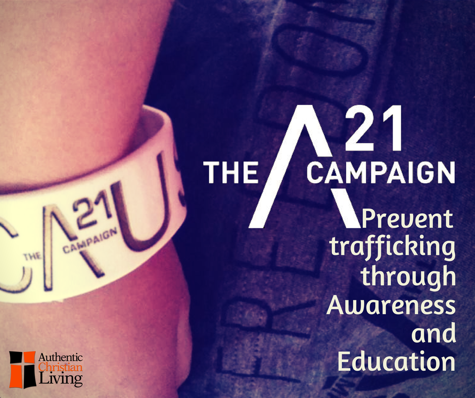 A21 campaign | highlighting charities that are ending slavery | preventing trafficking |