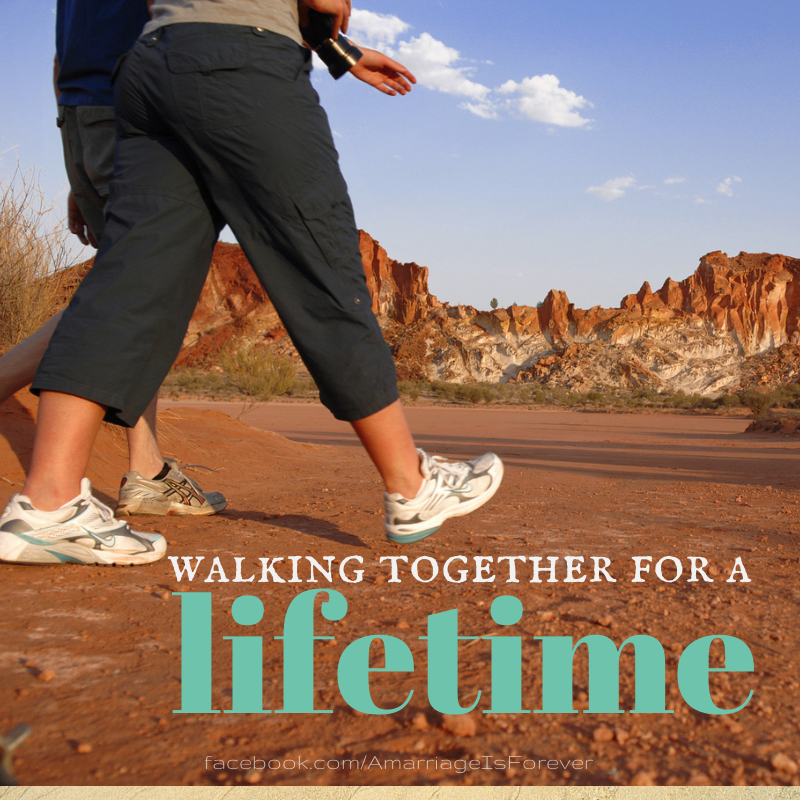 Marriage - lifetime together