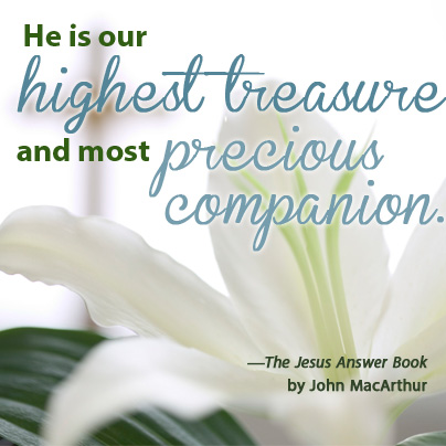 The Jesus Answer Book by John MacArthur quote 1